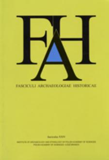 Fasciculi Archaeologiae Historicae. Fasc. 24 (2011), Index