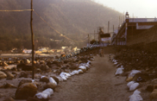 Bank of the Ganges in Rishikesh (Iconographic document)