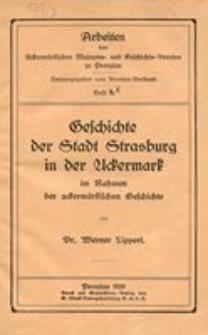 Geschichte der Stadt Strasburg in der Uckermark im Rahmen der uckermärkischen Geschichte