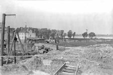 Szczęśliwice koło Warszawy : widok na teren wykopów