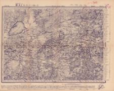 Reihe IX. Blatt 6. Ljuzyn : Gouvernement Witebsk, Livland u. Pßkow