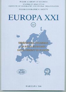 Europa XXI 18 (2008)
