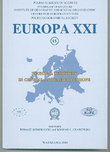 Europa XXI 15 (2006)