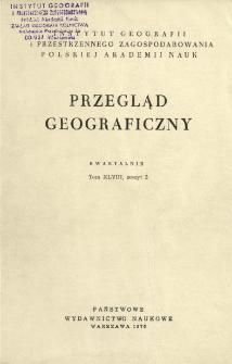 Przegląd Geograficzny T. 48 z. 2 (1976)