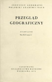 Przegląd Geograficzny T. 44 z. 4 (1972)