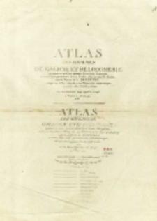 Atlas des Roiaumes de Galicie et de Lodomerie : consistant en une carte générale de ces deux Roiaumes, [...] avec le district de la Bucovine [...]