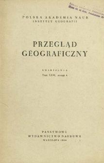 Przegląd Geograficzny T. 26 z. 4 (1954)