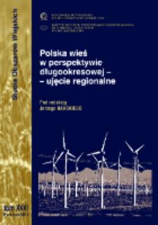 Polska wieś w perspektywie długookresowej - ujęcie regionalne = Polish countryside in a long-term time perspective - regional approach