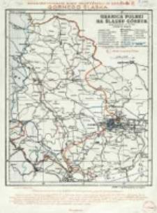 Granica Polski na Śląsku Górnym : według postanowienia Rady Najwyższej