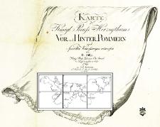 Karte des Königl. Preuss. Herzogthums Vor- und Hinter-Pommern