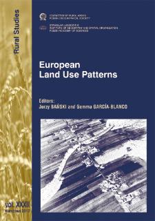 European land use patterns = Modele użytkowania ziemi w Europie