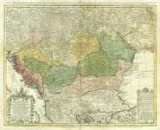 Hvngariae ampliori significatu et veteris vel Methodicae complexae Regna : Hvngariae Propriae, Croatiae, Dalmatiae, Bosniae, Serviae, Bulgariae, Cumaniae, Principatum, Transsylvaniae, Despotatus: Walachiae, Moldaviae (exclusis ab eadem alienatis Galitia et Ludomiria) in suas Provincias ac partes divisae et quoad Imperantes ex Avstriacis, Tvrcis Et Veneties distinctae (juncta tamen propter comoditatem Romania Vel Romelia Tvrcica) Tabula.