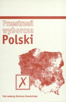 Przestrzeń wyborcza Polski