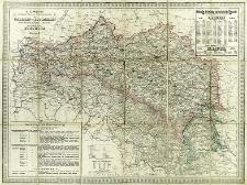 R. A. Schulz's General Post- und Strassenkarte von Galizien und Lodomerien mit Auschwitz, Zator und Krakau so wie des Kronlandes Bukowina