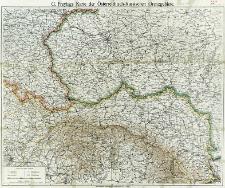 G. Freytags Karte der österreichisch-russischen Grenzgebiete