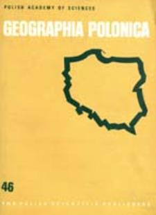 Geographia Polonica 46 (1983)