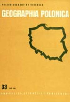 Geographia Polonica 33 part 1 (1976)