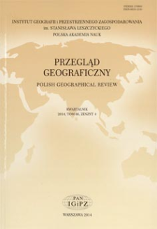 Przegląd Geograficzny T. 86 z. 4 (2014), Recenzje