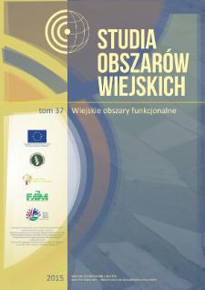 Wiejskie obszary funkcjonalne w kontekście dostępu do usług publicznych (na przykładzie województwa opolskiego) = Rural Functional Areas in the context of access to public services (Example of the Opolskie Voivodeship)