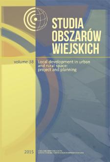 Studia Obszarów Wiejskich = Rural Studies, t. 38, Contents