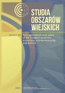 Studia Obszarów Wiejskich = Rural Studies, t. 39, Editorial