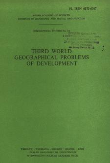Third World geographical problems of development : proceedings of the III Polish-Soviet Seminar, Warsaw, September 1979 = Razvivaûŝiesâ strany geografičeskie problemy razvitiâ
