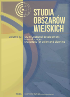 "Towards the creation of the ""Network of the most interesting villages"". Selected problems of rural renewal in Poland"