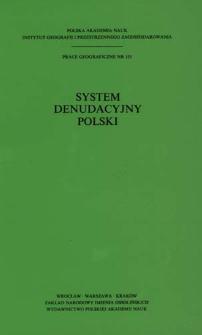 System denudacyjny Polski : praca zbiorowa = Denudational system of Poland