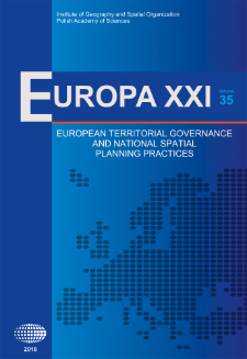 Organising regions: spatial planning and territorial governance practices in two Swedish regions