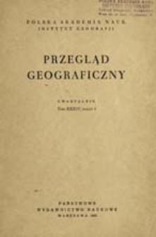 Przegląd Geograficzny T. 34 z. 3 (1962)