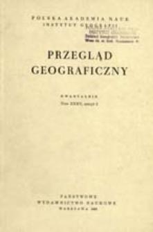 Przegląd Geograficzny T. 35 z. 2 (1963)