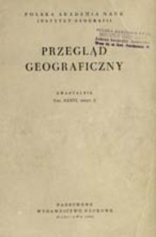 Przegląd Geograficzny T. 36 z. 2 (1964)