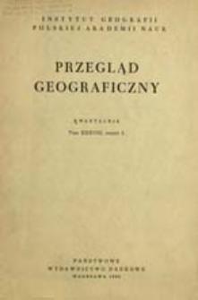 Przegląd Geograficzny T. 38 z. 3 (1966)