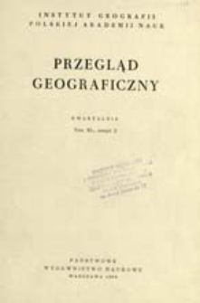 Przegląd Geograficzny T. 40 z. 3 (1968)