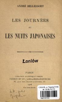 Les journées et les nuits Japonaises