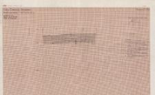 KZG, V 14 A, profil archeologiczny E wykopu