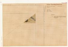 KZG, V 14 A, plan wykopu