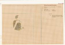 KZG, V 14 A, plan archeologiczny wykopu (jama)