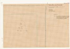 KZG, V 14 A, plan archeologiczny wykopu (dno jamy)