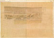 KZG, V 14 A, profil archeologiczny W wykopu