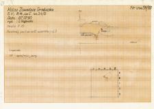 KZG, V 14 C, profil archeologiczny wykopu