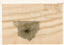 KZG, V 14 D, plan archeologiczny wykopu