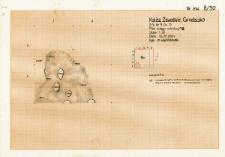 KZG, V 9 D, plan spągu warstwy 18