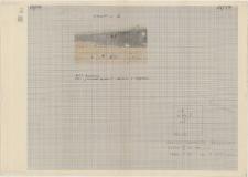 KZG, VI 502 C, profil archeologiczny E wykopu