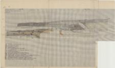 KZG, VI 401 BD, 501 B, profil archeologiczny NW wykopu