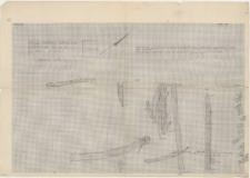 KZG, VI 702 AC, plan archeologiczny wykopu, konstrukcje drewniane