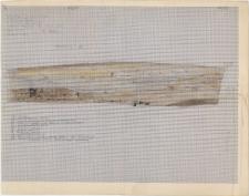 KZG, VI 501 CD, profil archeologiczny wschodni wykopu