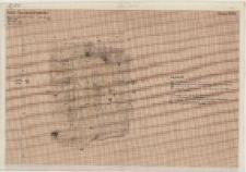 KZG, VI 401 D, 402 C, 501 B, 502 A, plan archeologiczny wykopu