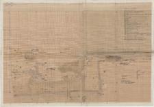 KZG, VI 401 B, 402 A, plan archeologiczny wykopu