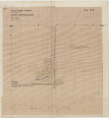 KZG, VI 401 ABCD, plan archeologiczny wykopu (kościół A i kolegiata)